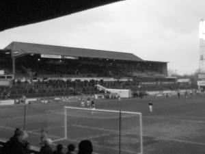 A big barn amid farming country...Brunton Park