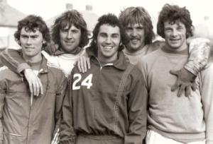 Thomas, Bowles, Francis, Parkes and Gillard....England lads all