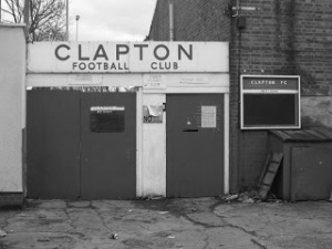 Clapton...definitely down the ladder