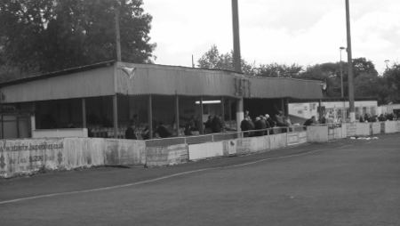 Stamford's Kettering Road ground...soon to be no more
