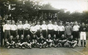 England on tour 1908
