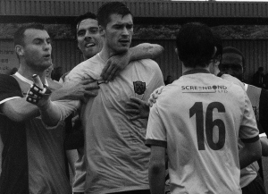 Tempers fray at Hitchin Road