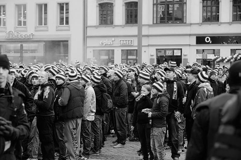 Leipzig fans...still hanging in there
