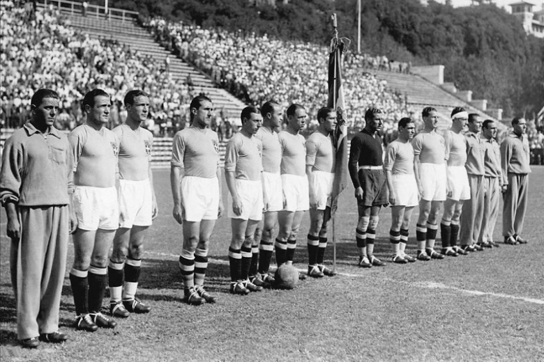 Italy's 1934 champions