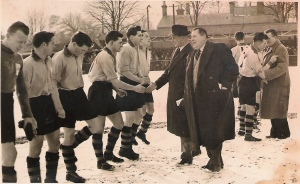 Over 7,000 people turned up to see Hitchin in 1955-56 in one game...similar numbers would be welcome for the club's important march