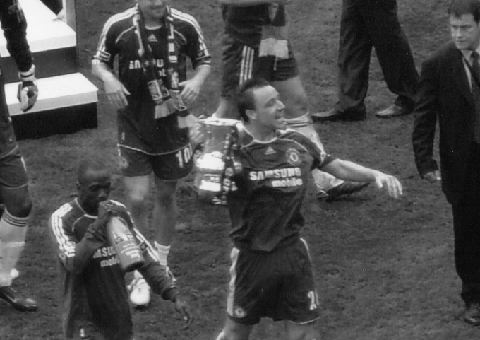 The last time the top two met in the final...Chelsea 1 Manchester United 0 2006-07