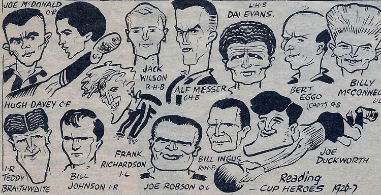 They took the biscuit...Reading's last cup heroes of 1926-27