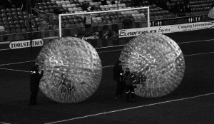 Who says football's one big bubble...there's two, at least