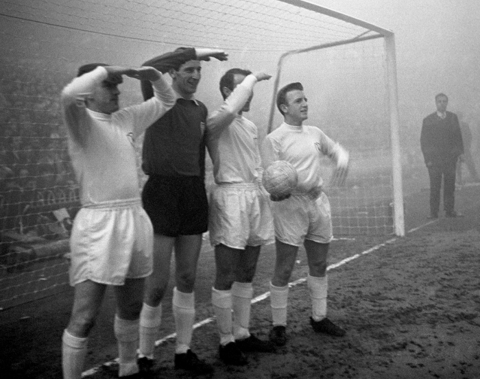 Dave Mackay and team-mates peer through the mists of time...