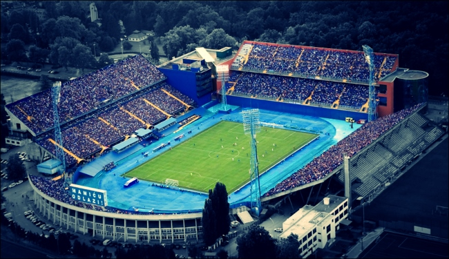 Dinamo Zagreb...when people turned out to watch them