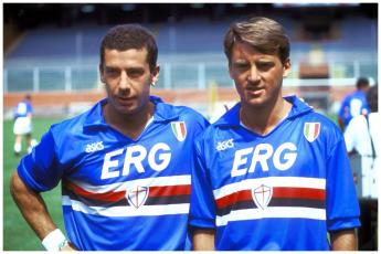 Those terrible twins - Vialli and Mancini