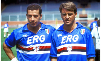 Those terrible twins - Vialli and Mancini
