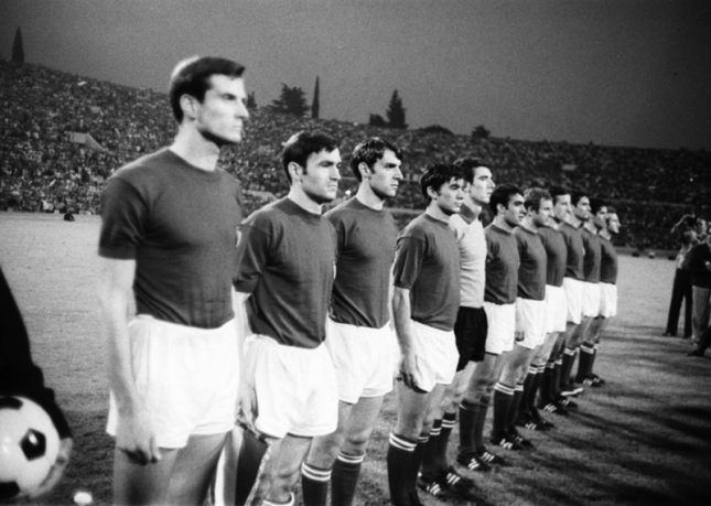 Italy may have been European Champions in 1968, but Leslie Vernon had his own ideas...