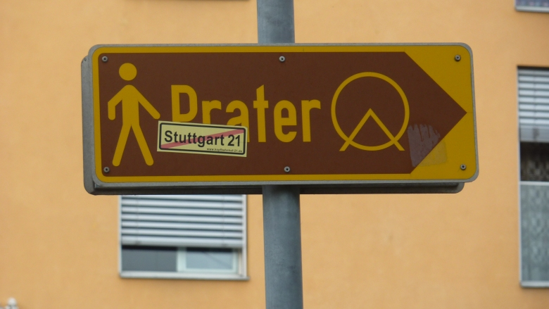 All roads lead to the Prater in Vienna...