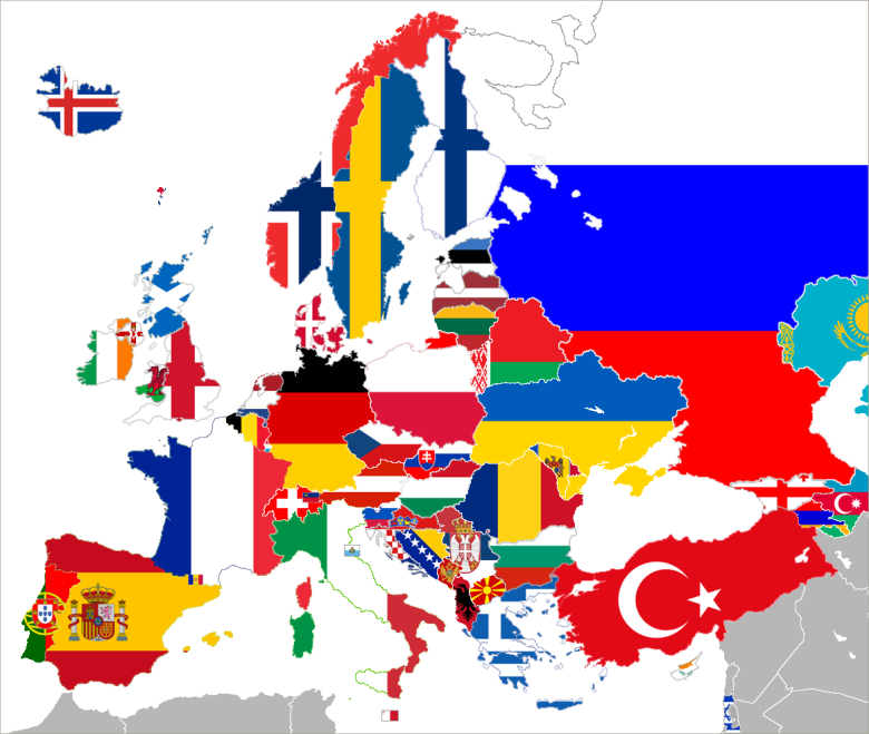 UEFA_flag_map