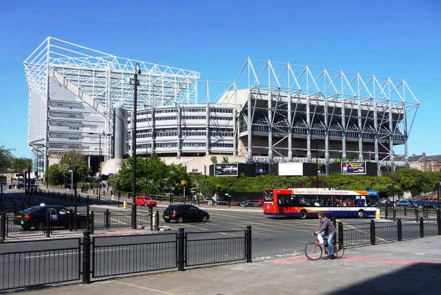 St_James_Park_Newcastle_south_west_corner