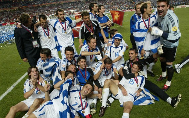 They might not have been eye candy, but Greece's 2004 win was very impressive.