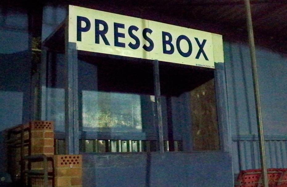 press box