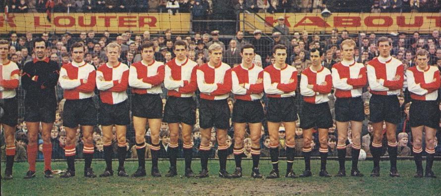 A young Geels at Feyenoord