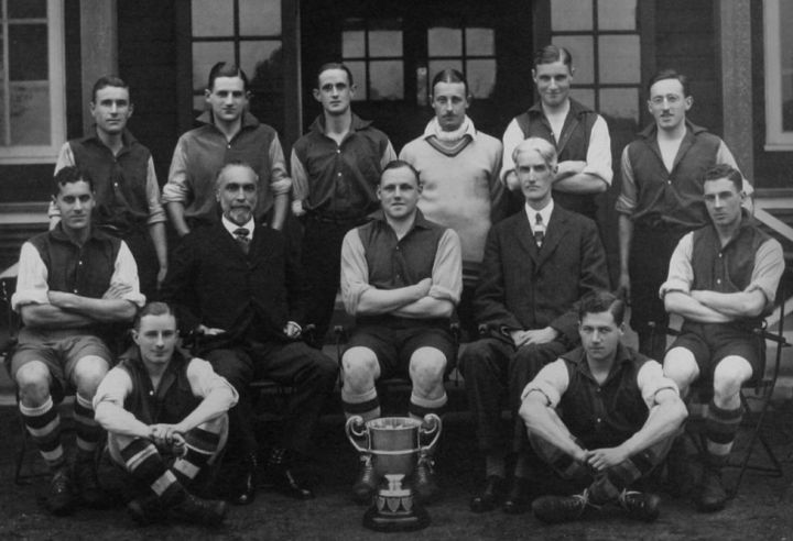 Bank of England FC, winners of the AFA Senior Cup 1923-24