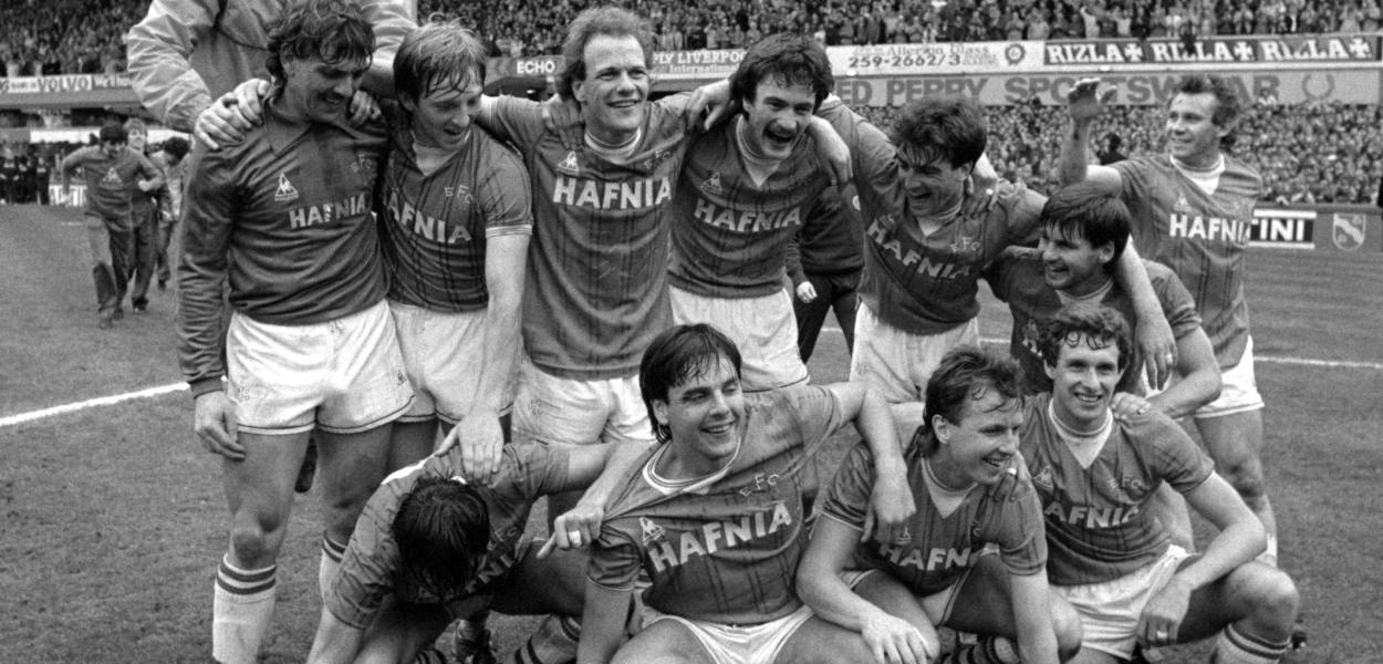We are the champions 1984 85 everton game of the people for League table 1984 85