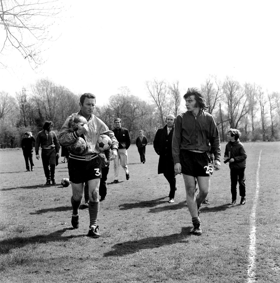 Best and Hudson, Keegan and Cruyff: Playboys v Smart boys