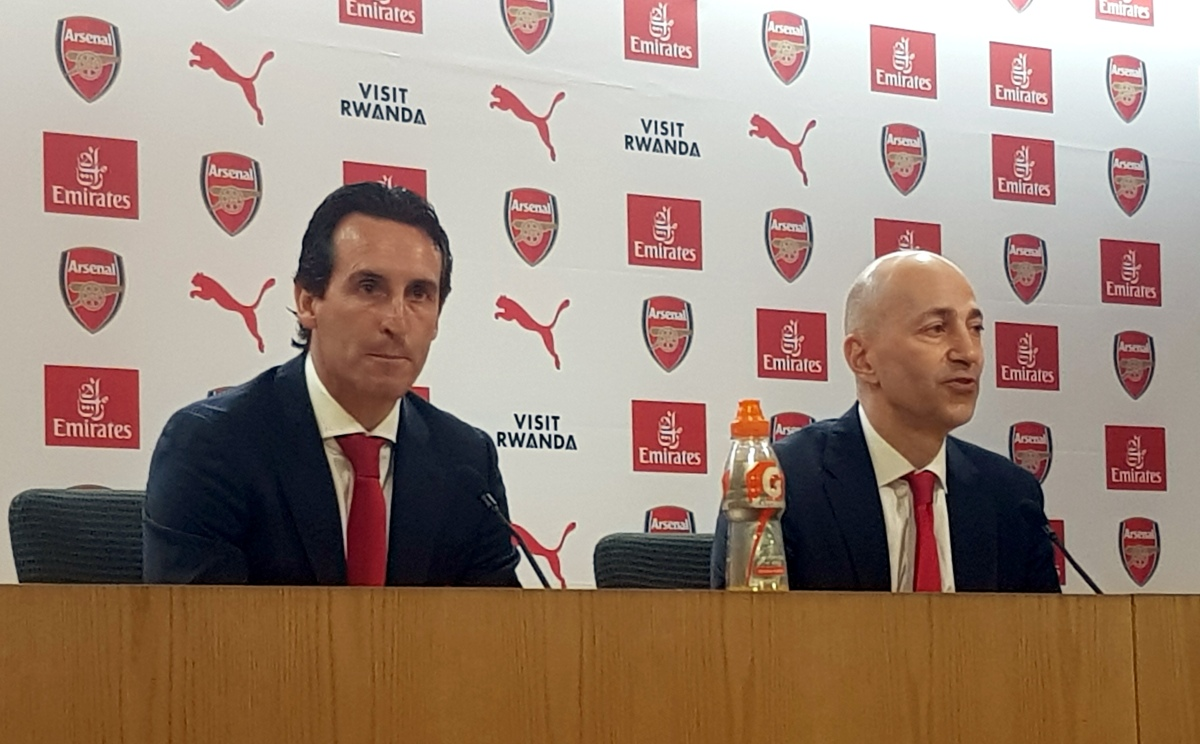 The right choice - Emery's arrival at Arsenal