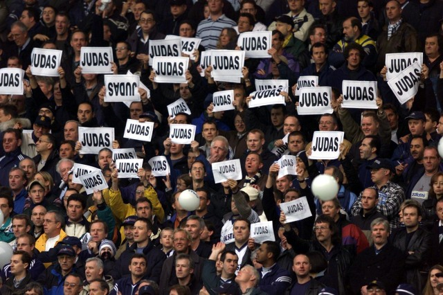 When will fans realise football is just an incredibly well-paid job?