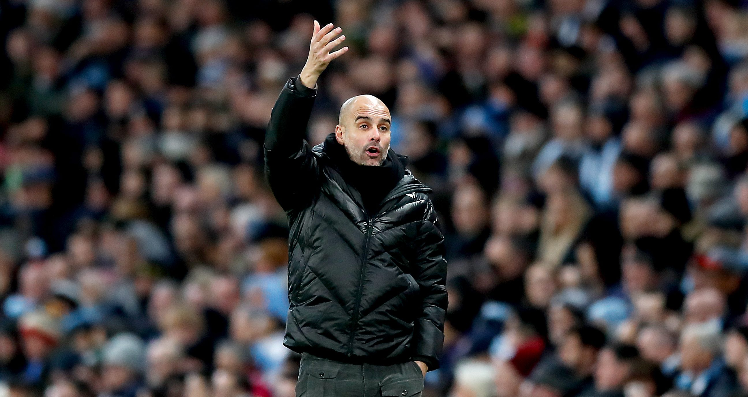 What was Guardiola trying to say?