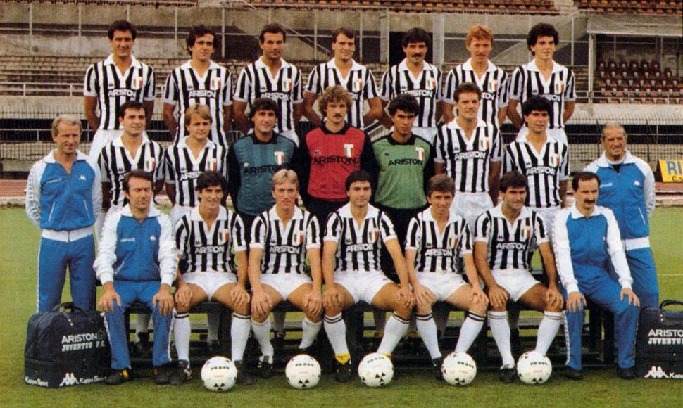 Europe S Champions Juventus 1984 85