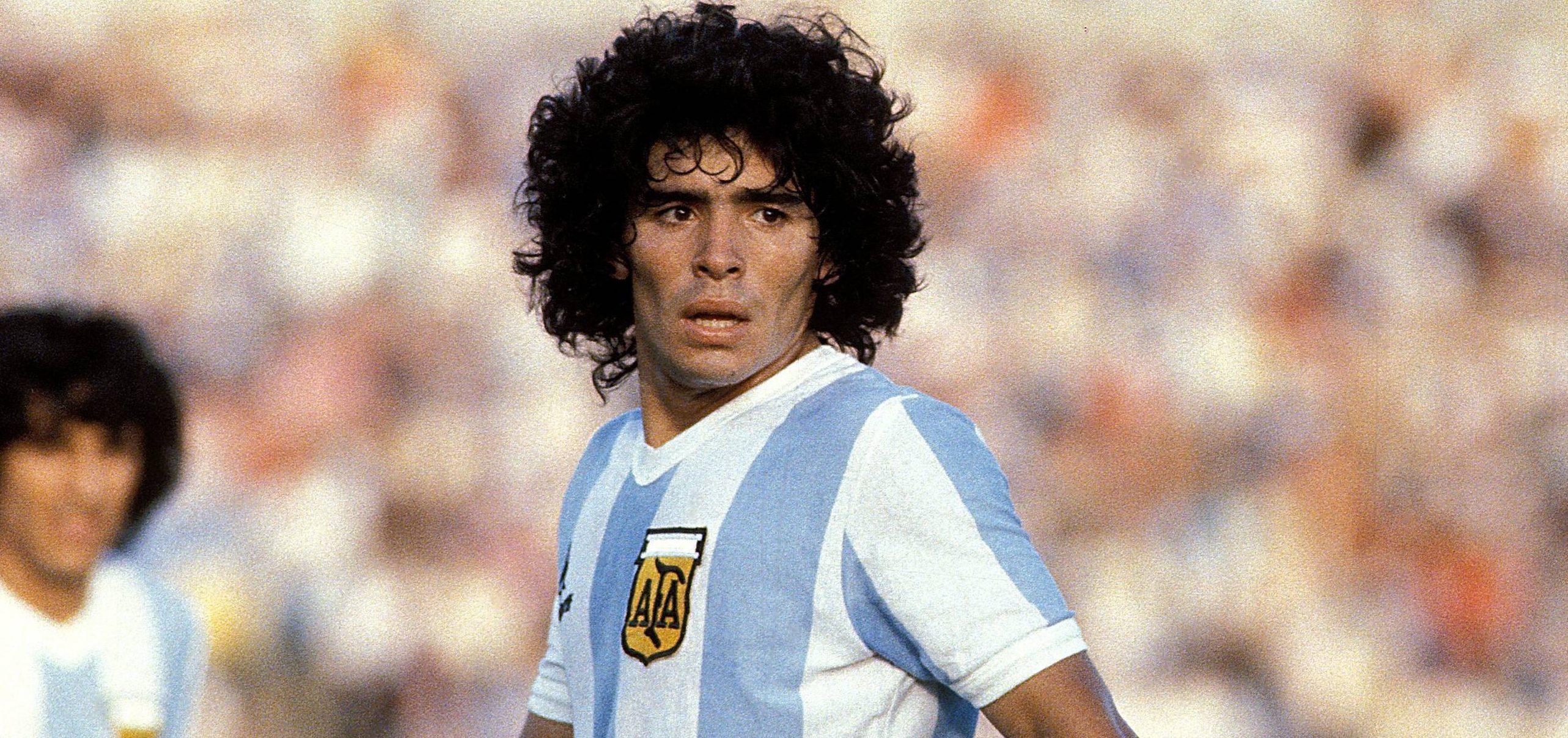 Diego Maradona – reluctantly, we worship