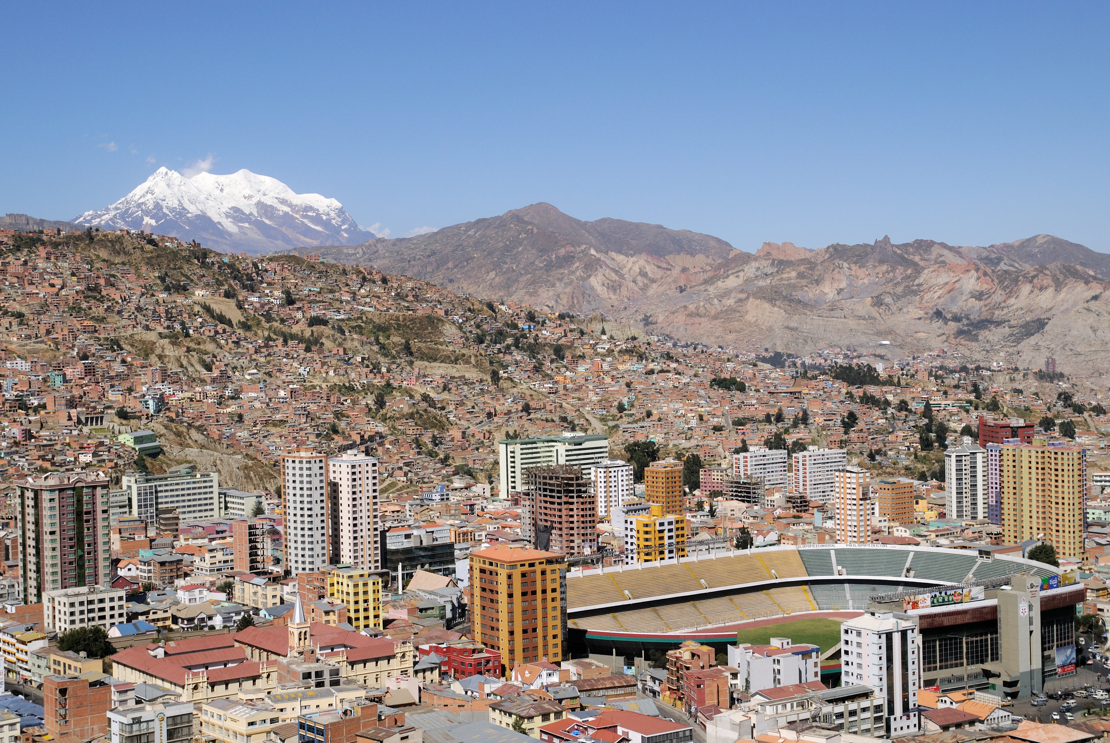 The City Football Group reaches Bolivia – how much further will the expedition run?